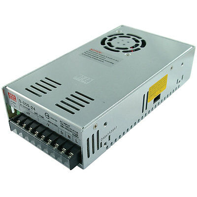 Mean Well MW NES-350-24 24 VDC 14.6A 350W Regulated Switching Power Supply
