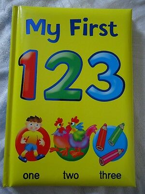 My First 123 Book - Brand New