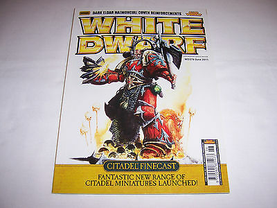 White Dwarf June 2011 - WD378 - Features Citadel Finecast Launched