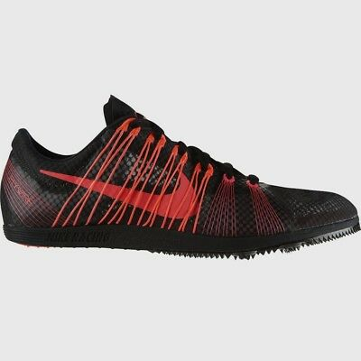 NIKE Zoom Matumbo 2 Black Red Mid Distance Track Spikes Shoes New Mens 12.5 14