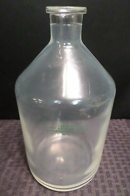 Chemglass Plastic-Coated Glass 1000mL HPLC Solvent Delivery Bottle, Tooled 29/32