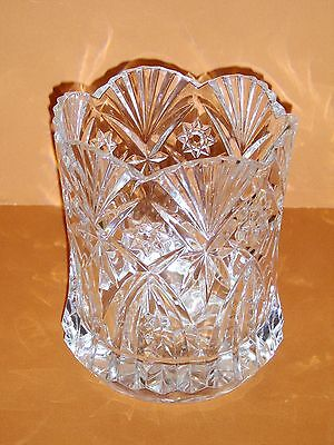 """Cristal D'Arques J.G Durand Vincennes Champagne Crystal 8 1/2"""" Ice Bucket"""