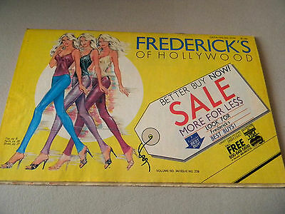 Frederick's of Hollywood Catalog- 1979- Vintage Fashion- Vol 34 Issue 239