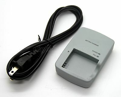 Battery Charger for Canon PowerShot SD770 IS SD980 IS SD1200 IS Digital ELPH