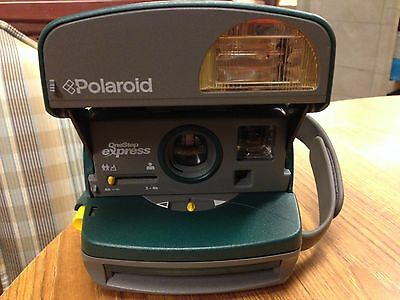 Polaroid One Step Express Instant 600 Camera, Hunter Green