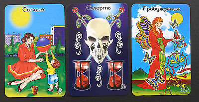 Women's Tarot Cards Deck from Russia SEALED