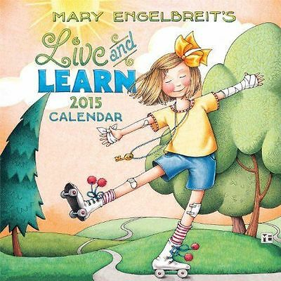 Mary Engelbreit 2015 Mini Wall Calendar: Live and Learn