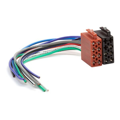 Universal Female Iso to bare end wiring harness lead plug wire
