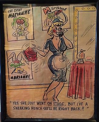 1940's Vintage Adult Cartoons for Magazines