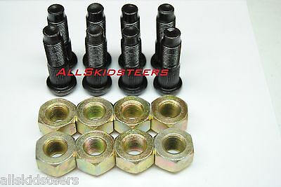 Bobcat Lug Nut & Stud Kit S100 S130 S150 S160 S175 S185 S205 Skid Steer Wheel