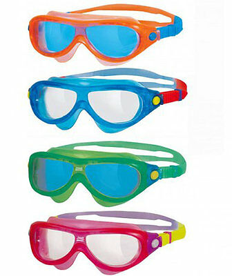 101826 SPORTS DEAL Zoggs Phantom Kids Mask Swimming Goggles - up to 6 Years