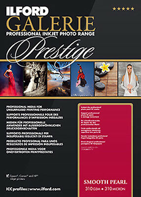 Ilford Galerie Prestige Smooth Pearl A4 Inkjet Photo Paper - 310gsm - 100 sheets