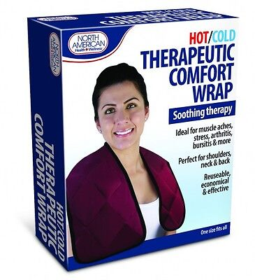 Hot & Cold Therapeutic Comfort Wrap Instant Relief Arthritis Shoulders Neck Back