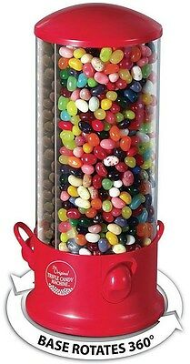Triple Candy Machine Dispenser 3 Compartments Gumball Gum Ball Snacks Types NEW