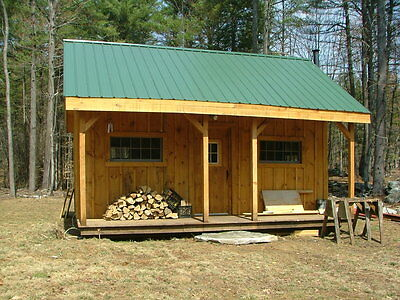 Vermont Cottage Option A - Tiny House Living - Full Color Easy to Read DIY PLANS
