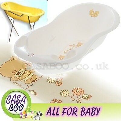 TEDDY  LUX  Large Baby Bath Tub with  Stand -102 cm- white pearl  Great Price