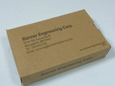 Banner 60987 Gate Monitoring Safety Module  NEW