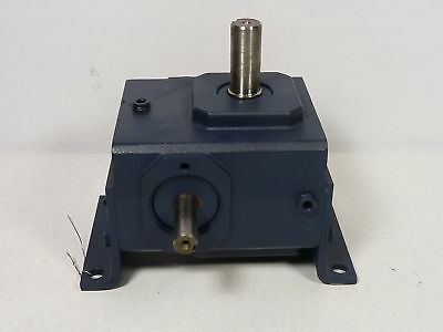 GroveGear GR-VL818-20-RU Gear Reducer 20:1 Ratio 630lbs-In 1.046HP  USED