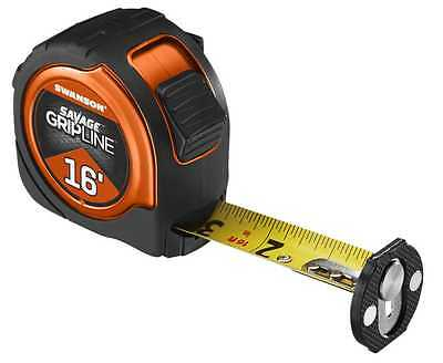 Swanson Tool SVGL16M1 16ft. Magnetic Savage Gripline Tape Measure