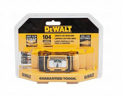 Stanley Tools DWHT70440 Jobsite LED Headlamp, Yellow