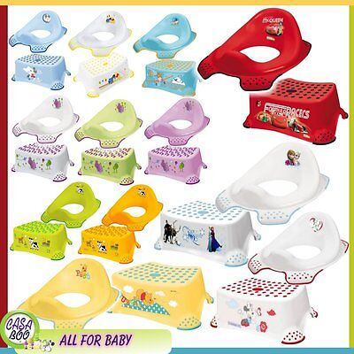 OKT BABY Children Toddler Toilet Training Seat & Step Stool  many design NEW