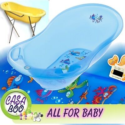 AQUA  LUX  Large Baby Bath Tub with  Stand + thermometer  - 102 cm - Great Price
