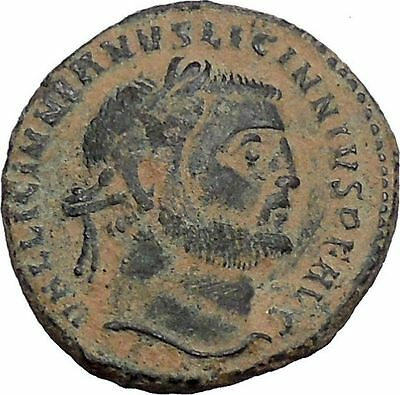 LICINIUS I enemy of Constantine the Great Ancient Roman Coin Genius RARE i46795