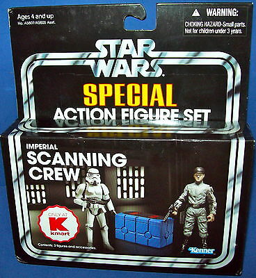 STAR WARS Vintage Collection FIGURE IMPERIAL SCANNING CREW NIB KMART Exclusive