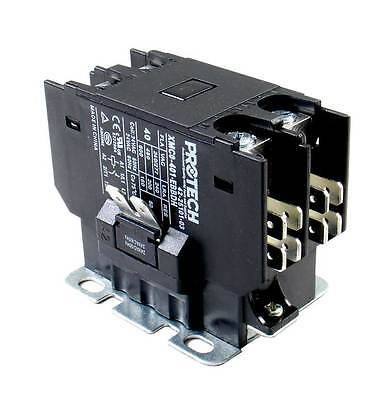 Rheem Ruud Weather King 24 Volt Contactor Relay 42-25101-03 1 Single Pole 40 Amp