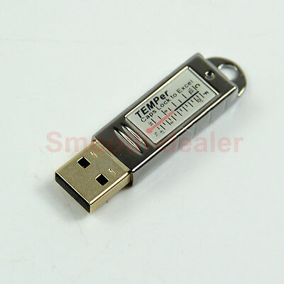 Practical USB Thermometer Temperature Sensor Tester Data Recorder For PC Laptop