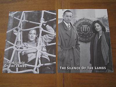 The Silence Of The Lambs Jodie Foster Lobby Card Set of 2 11 X 14 PK1513