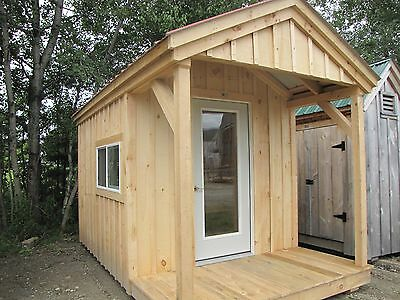 Garden Shed DIY Plans - Garden Shed/Storage/Tool/Yard/Pool DIY Project Plans
