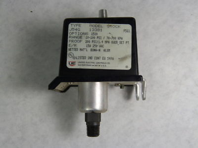 United Electric Controls J54G-13381 Pressure Controller  USED