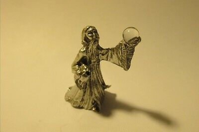 Pewter Fantasy Wizard Made In USA
