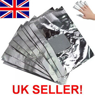50 Nail Art Soak Off Remover Gel Polish Acrylic Shellac Removal Foil Wraps Pad