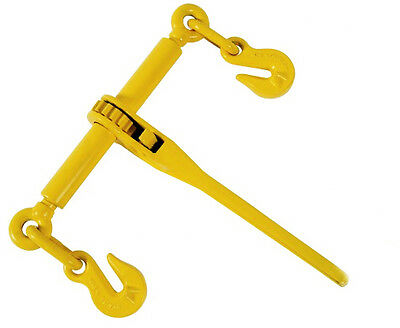 "Ratchet Load Binders Binder 3/8"" 1/2"" - Boomer Chain Equipment Tie down rigging"