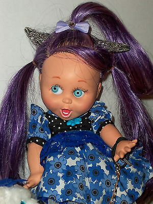 Galoob, Baby Face, Re-Rooted Susie, Ooak  Pixie Fairy/elf Doll