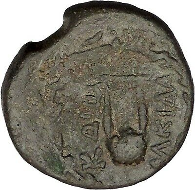 KOS Ancient Greek ISLAND City OFF CARIA 88BC Apollo Lyre Authentic Coin i46530