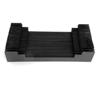 800mm Synthetic Rubber Flexible Folding Protective Accordion Dust Cover for Mill