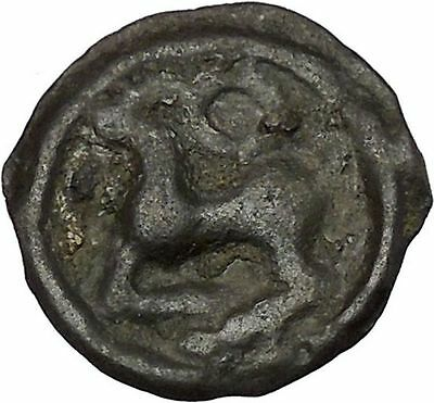 CELTIC Tribes of Gaul THE SEQUANI 2-1CenBC HORSE Ancient Greek Coin RARE i46533
