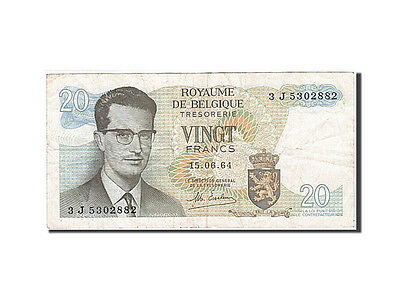 [#257764] Belgium, 20 Francs, type King Baudouin I, Pick 138