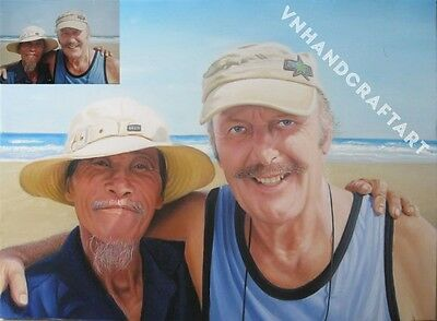 20x24 - Original Customized Oil Painting From Artist : Portrait, Pet, Landscape