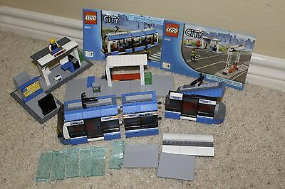 Lego PUBLIC TRANSPORT STATION (8404) - Parts Lot - Unique Pieces!