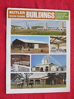 Vintage 1973 Butler Farm Buildings Brochure