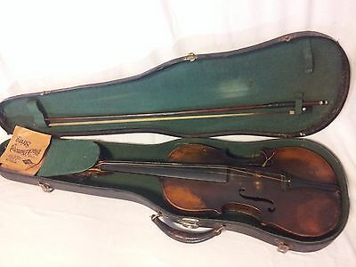Antique Stradivarius Violin Label 1736