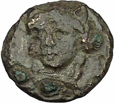 Greek City of Abydos in Troas 300BC Artemis Lyre Ancient Greek Coin i46124
