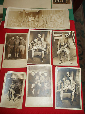 WWI Army Order of Induction, Orig Hon Discharge, Photographs, etc. of PA Soldier