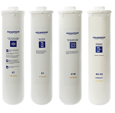 AQUAPHOR Set of Replacement Cartridges for MORION - K2, K5, K7M, Membrane