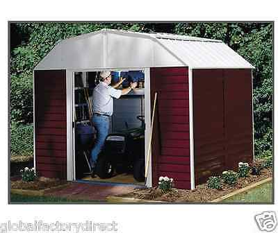 Arrow Sheds 10' x 8' Red Barn Shed + Floor Kit - RH108