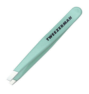 Pinza mini Slant diagonal Tweezerman Verde